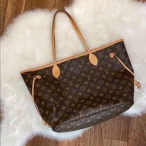 Authentic Louis Vuitton Neverfull (no pouch